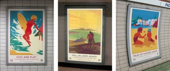 Pembrokeshire Coast Tube Posters