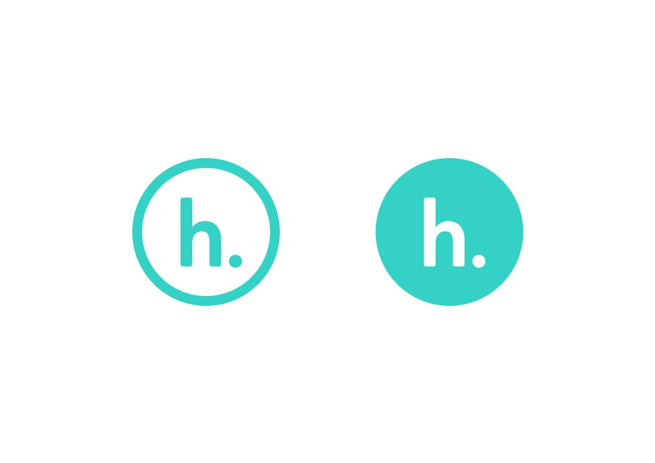 Hatched rebrand logo mark