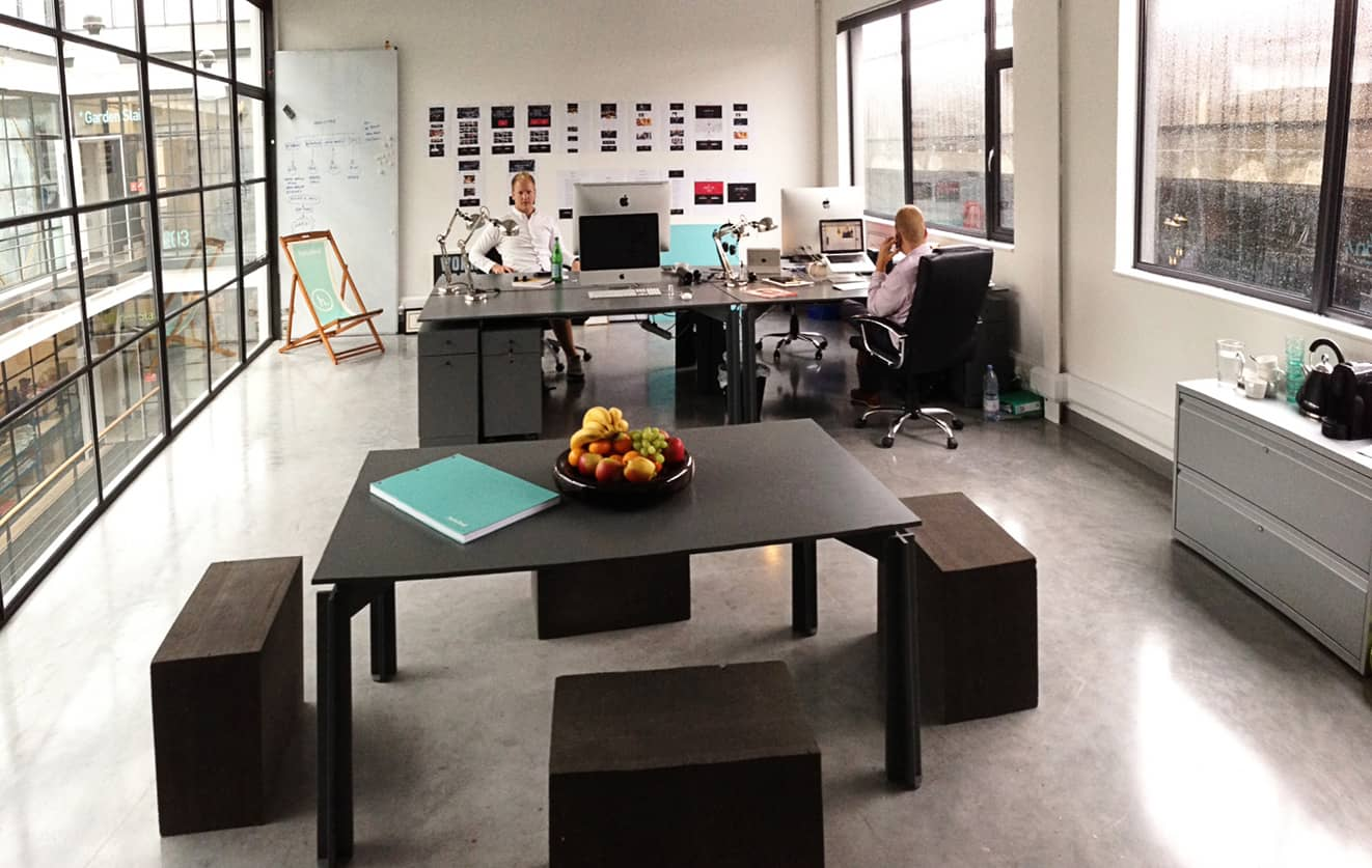 Hatched office