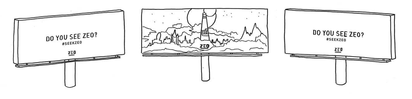 I See Zeo - Lenticular Billboard