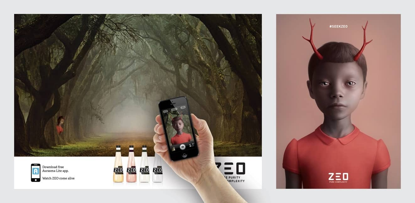 Welcome to Zeo Interactive augmented reality billboards