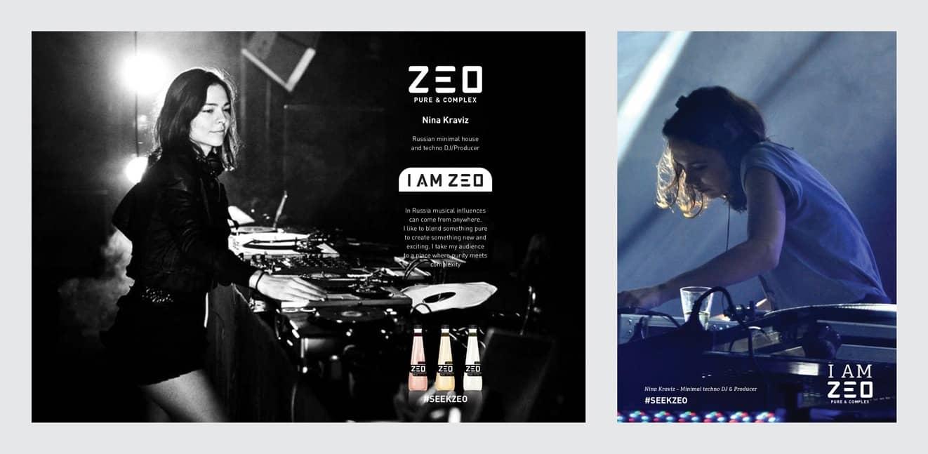 I am Zeo Techno DJ Nina Kraviz