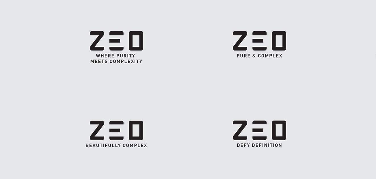 Zeo Strapline propositions