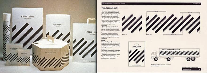 John Lewis Old Branding