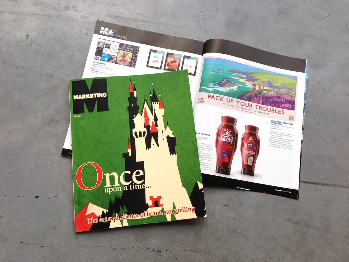 Hatched in Marketing Magazine