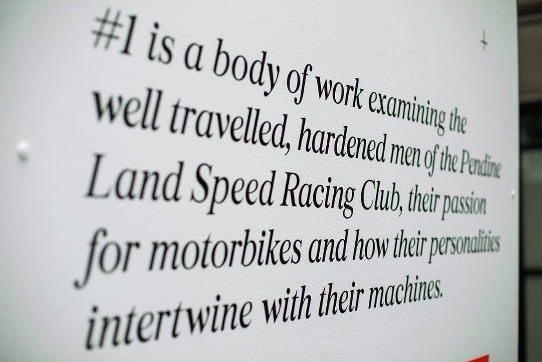 Machinate Exhibition Typography