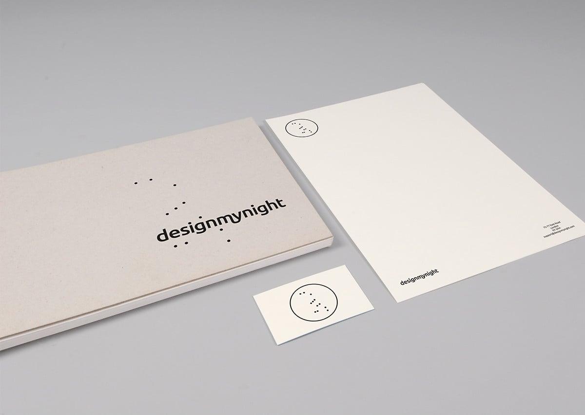 Hatched Design My Night Rebrand