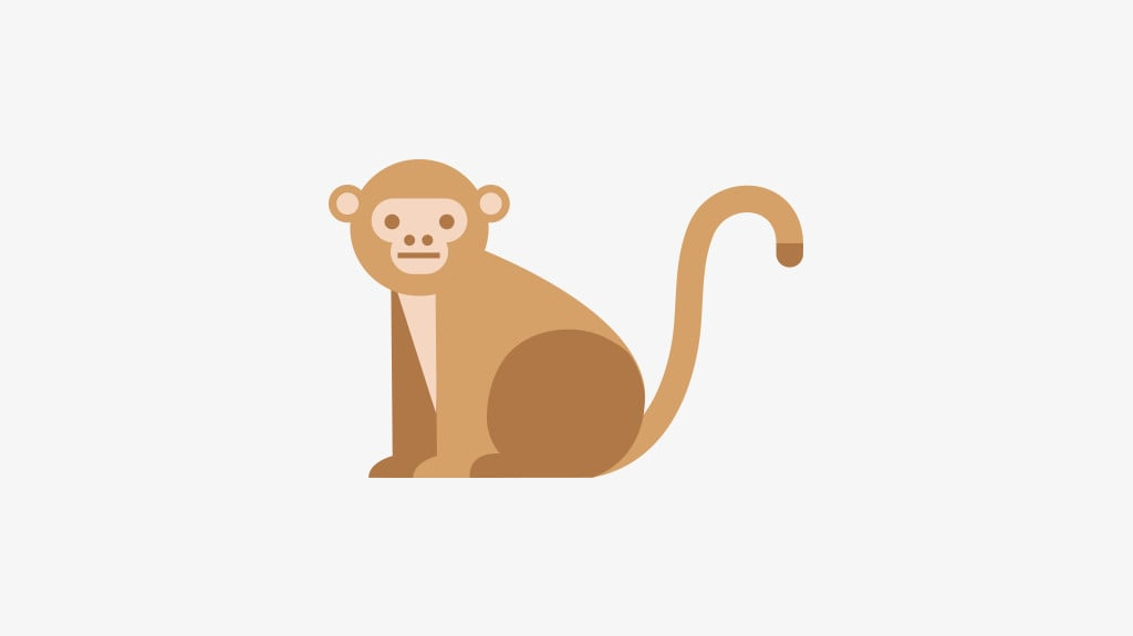 Slowly Slowy catchee monkey