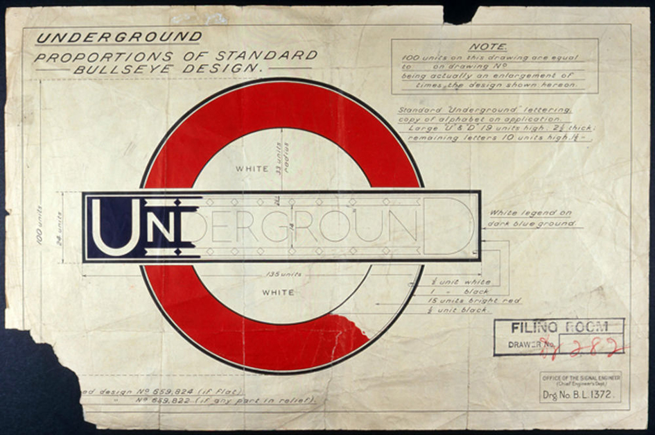 London Underground Roundel Creation
