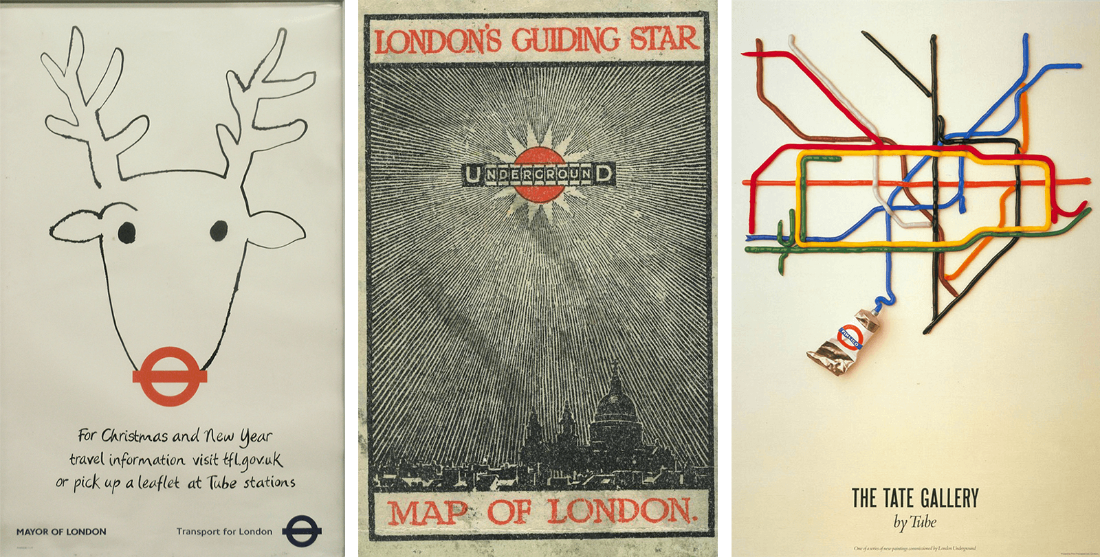 london underground retro